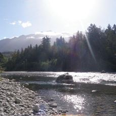 chilliwack river scenery